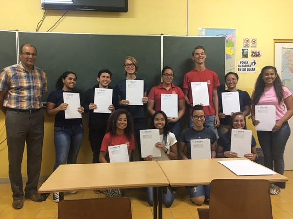 leerlingen ontvangen CNaVT